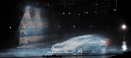 Nissan Celebrates Canada Day, 2013 Altima, with 3D Holographic